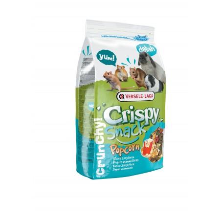 Crispy snack popcorn rongeurs