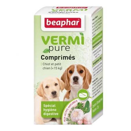VERMIPURE - comprimés aux plantes - chiots et petits chiens