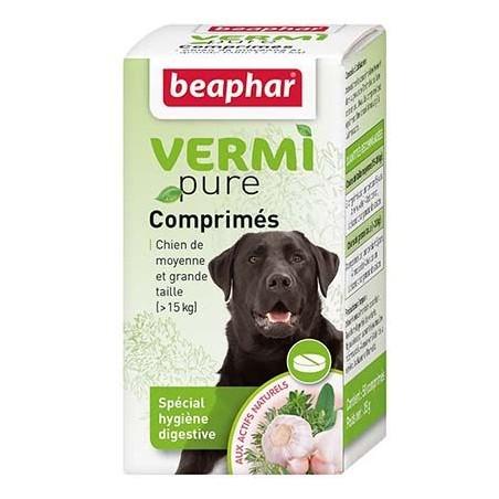 VERMIPURE - comprimés aux plantes - chiens +15kg