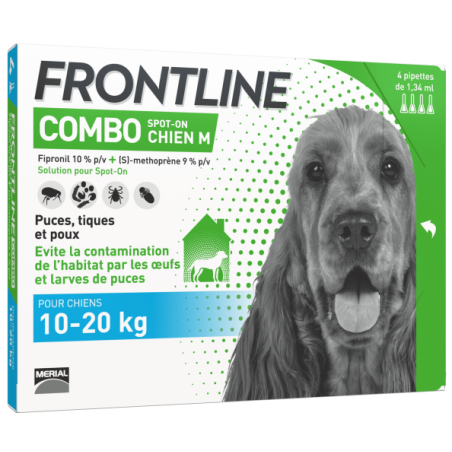FRONTLINE Combo Pipettes antiparasitaires pour chien