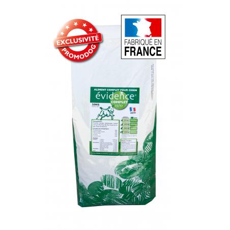 EVIDENCE COMPLET - ALIMENT CHIEN - Fabrication Française - 20kg