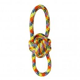 Balle en corde multicolore...