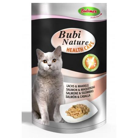 Bubi Nature Health Care Chat - Saumon  & Maquereau