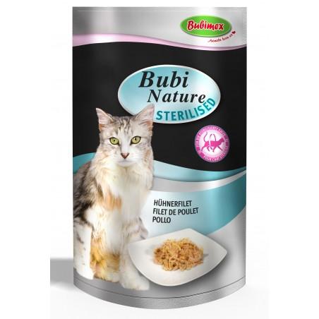 Bubi Nature Chat Stérilisé - Filet de Poulet