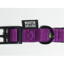 Collier Nylon Confort Mauve