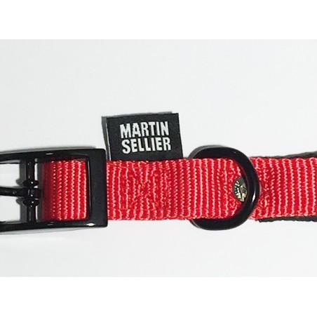 Collier Nylon Confort Rouge