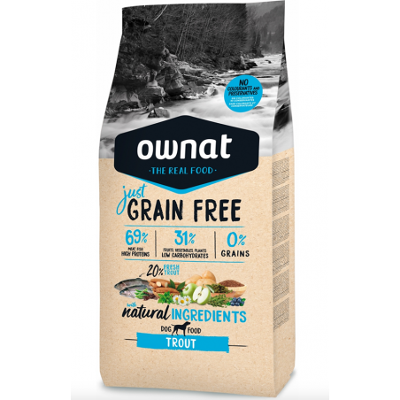OWNAT JUST Grain Free - à la Truite