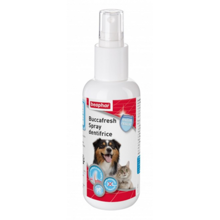 Buccafresh Spray Dentifrice - pour Chien et Chat