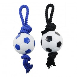Ballon foot + corde