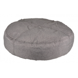 Coussin Rond Gris - Ultra...