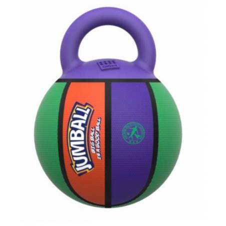 Balle de Basket Multicolore avec Poignée pour Chien