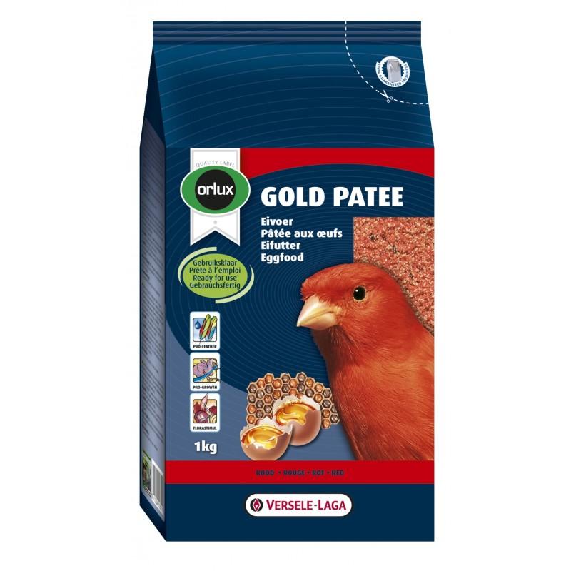 GOLD PATEE ROUGE aux œufs ORLUX