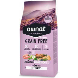 OWNAT Prime Grain Free Sterilized Chat