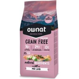OWNAT Grain Free Agneau Chien mini