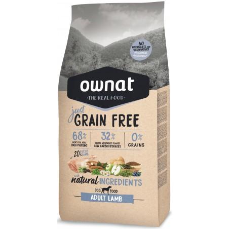 OWNAT JUST Grain Free - à l'Agneau