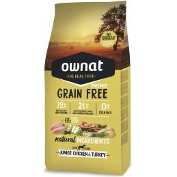 OWNAT PRIME Junior Grain Free Poulet 14kg