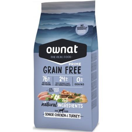 OWNAT PRIME Senior Grain Free Poulet 14kg